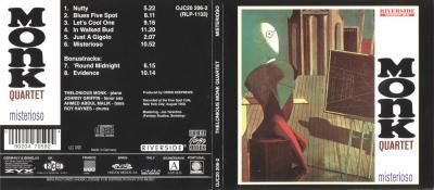 Thelonious Monk - Misterioso (1958)